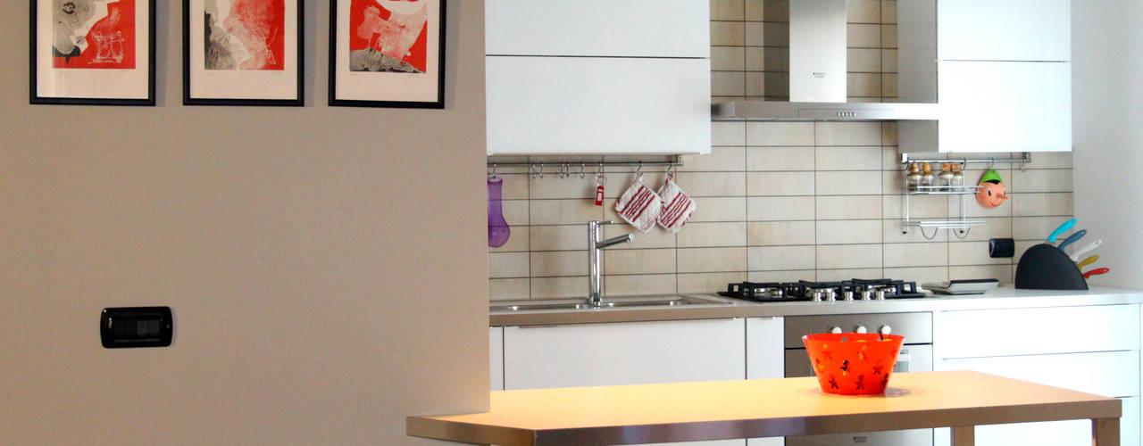 Come arredare una cucina piccola semplici idee per spazi stretti - Idee per arredare cucina ...