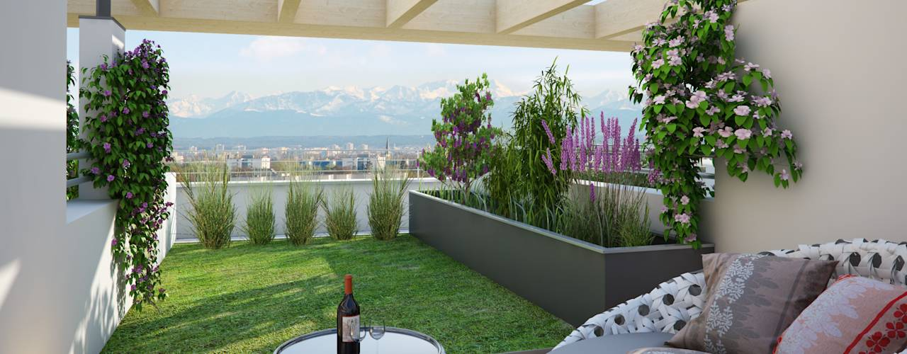 15 ideas para tener una terraza moderna for Terrazas 1280 a