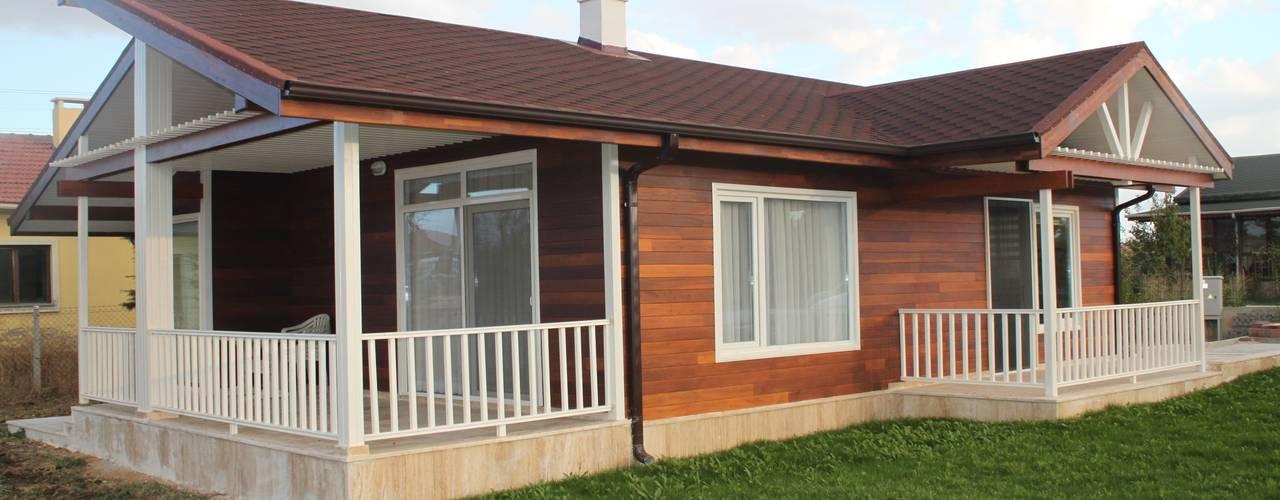Una Casa Modelo Prefabricada Y A Medida