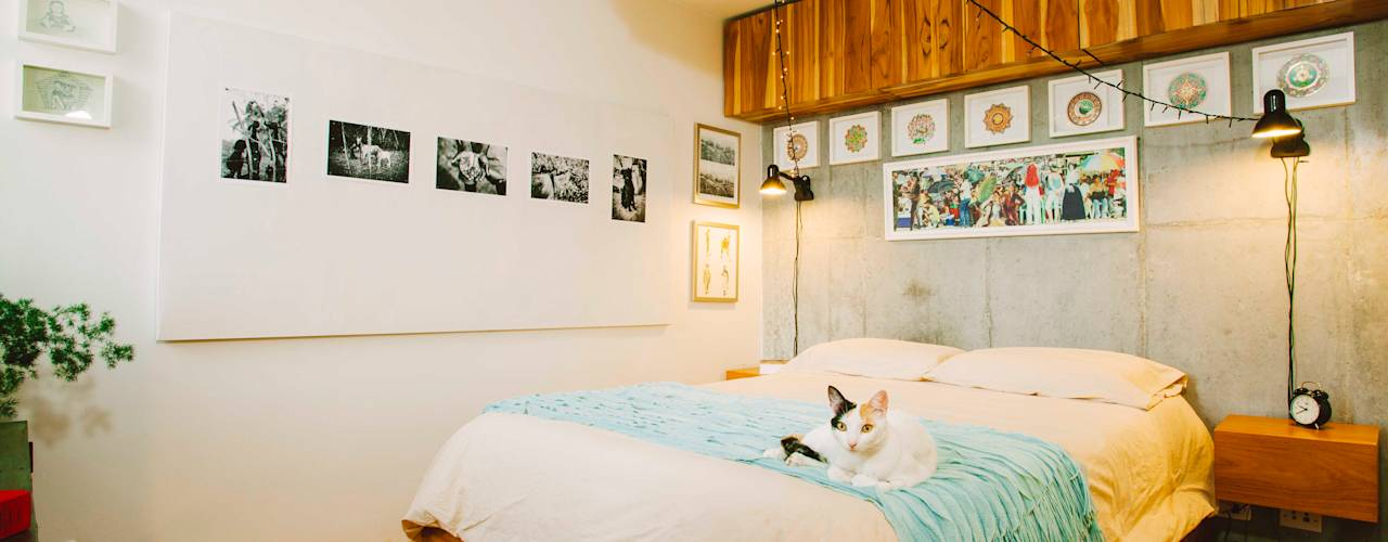 14 ways to decorate your bedroom walls for Ways to decorate your bedroom