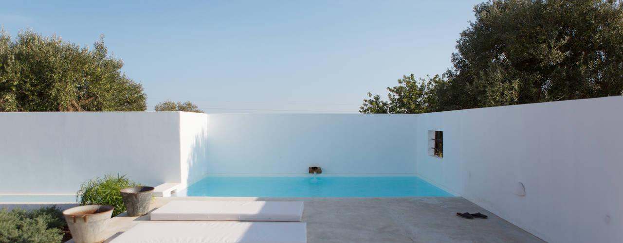 16 piscinas pequenas para p tios pequenos for Piscinas de patios pequenos