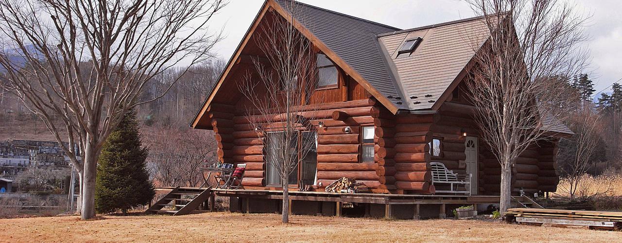 Cottage Style (コテージスタイル): kırsal tarz tarz Evler