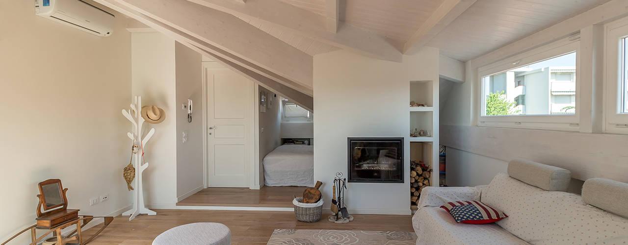 5 indrukwekkende slaapkamers op zolder - Badkamer mansard ...