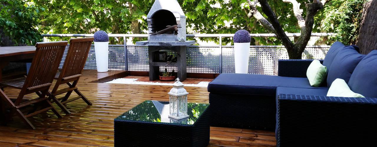 13 terrazas modernas con madera que te inspirar n a for Terrazas 1280 a