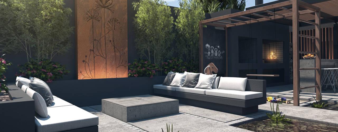 6 ideas para pisos en el patios for Pisos de patios modernos