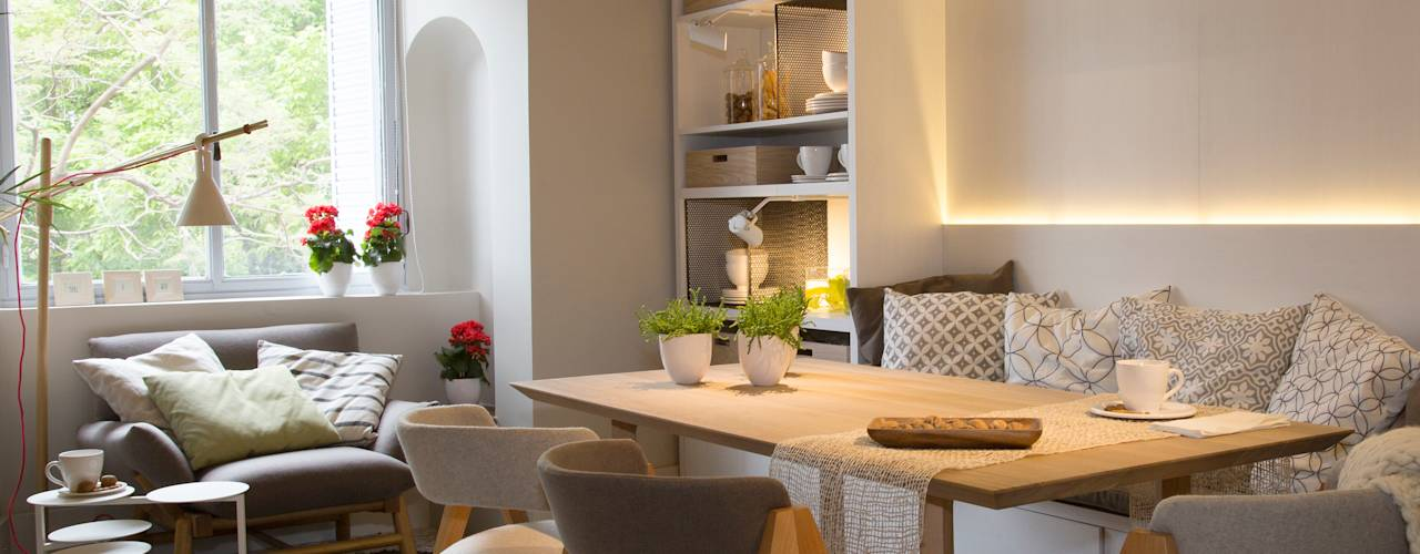 5 idee per piccole e moderne sale da pranzo - Stanze da pranzo moderne ...