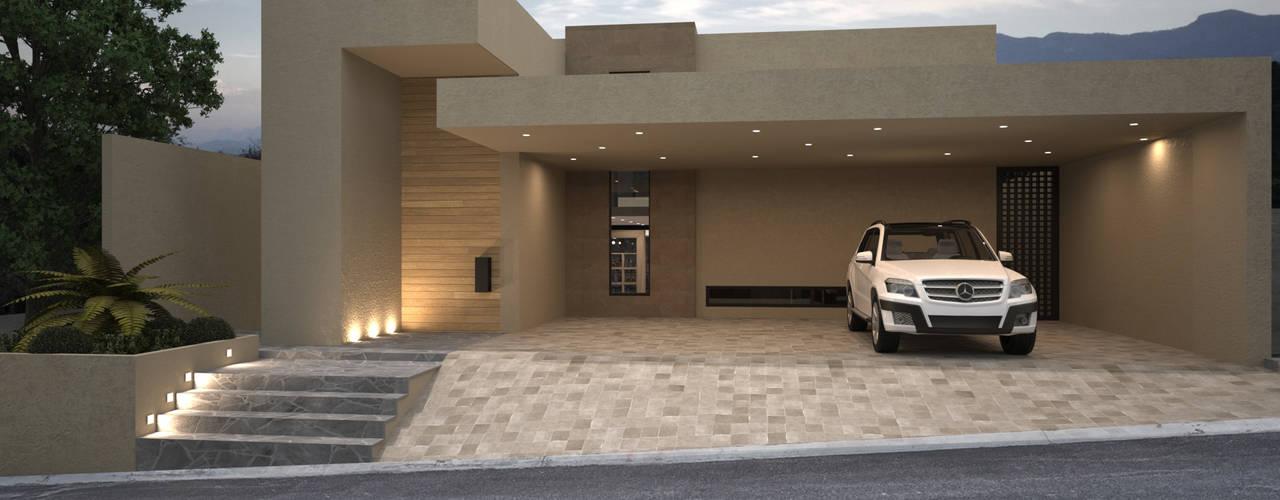 20 gevels in 3d die je inspireren om je eigen droomhuis te for Je eigen woonkamer ontwerpen
