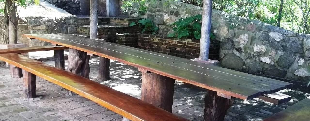 7 ideas para terrazas muy r sticas y hogare as for Ideas para terrazas rusticas