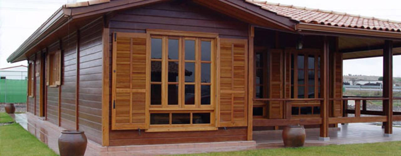 7 casas de madeira aconchegantes e incr veis - Casas de madera 2 plantas ...