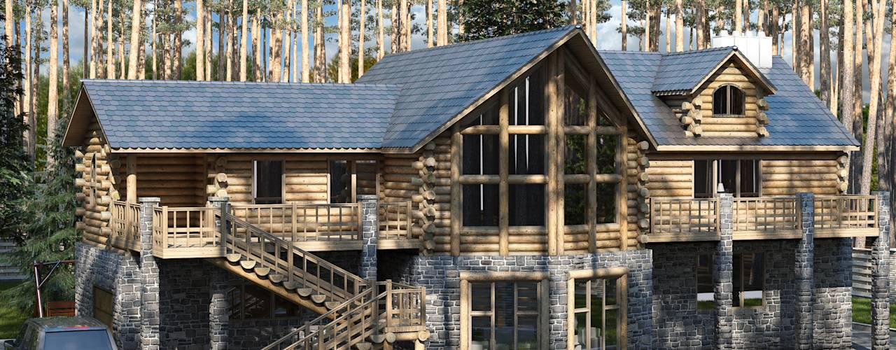 This Log Home Is Utterly Grand