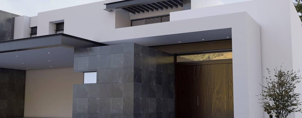 13 fachadas de casas modernas con revestimiento de piedra for Fachadas de casas modernas con piedra