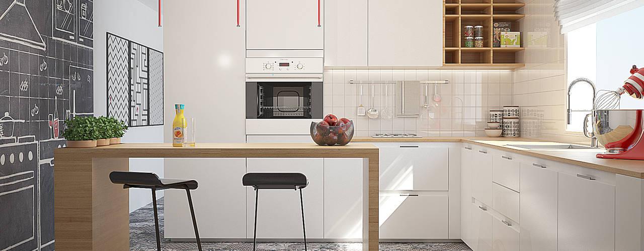 moderne Küche von olivia Sciuto