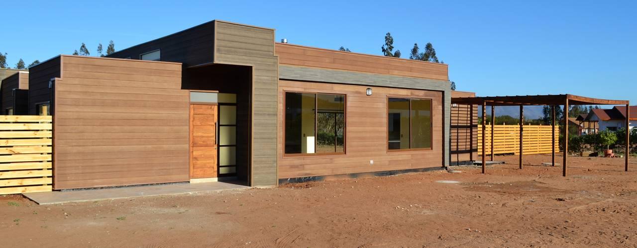 Una casa prefabricada y chilena de 142m por 2 mil uf - Como construir una casa prefabricada ...