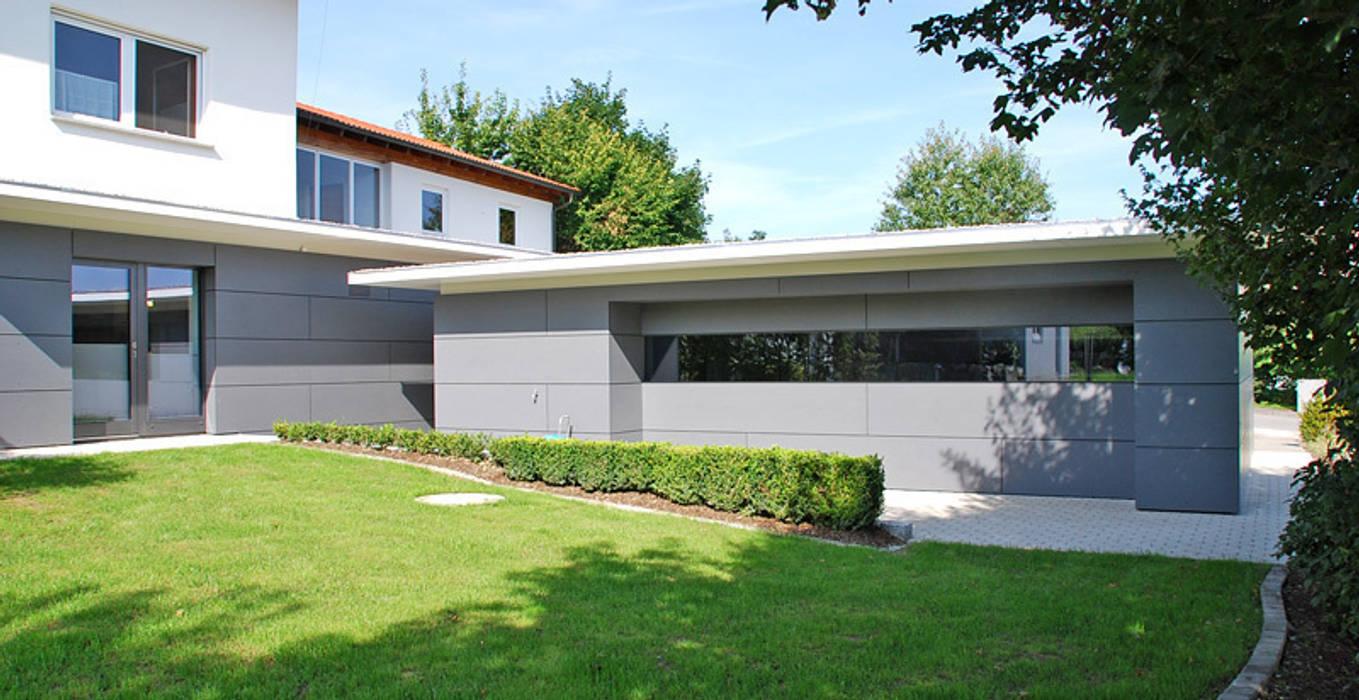 Neubau moderne garage schuppen von peter rohde innenarchitektur