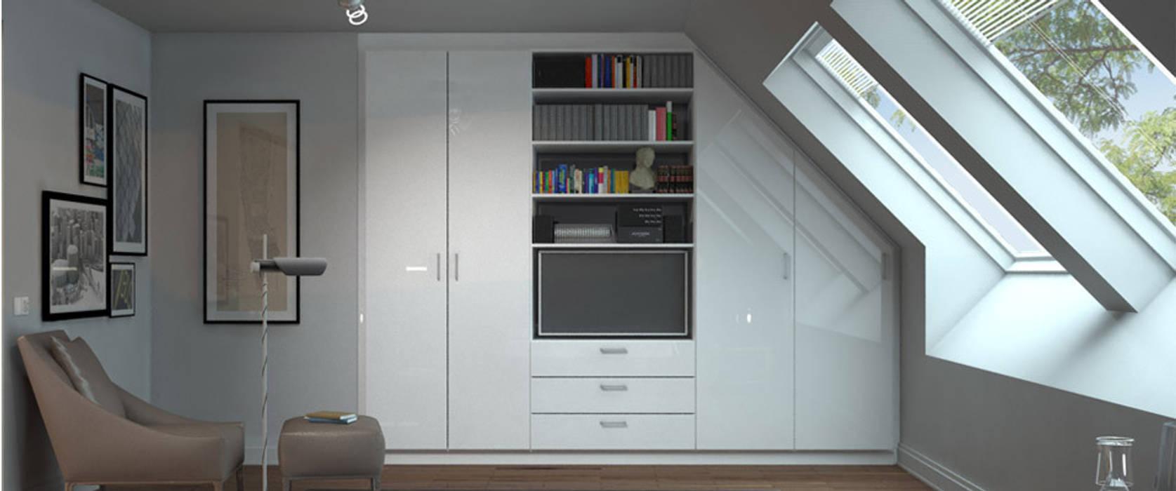 klassische wohnzimmer bilder schrank mit seitlicher schr ge homify. Black Bedroom Furniture Sets. Home Design Ideas