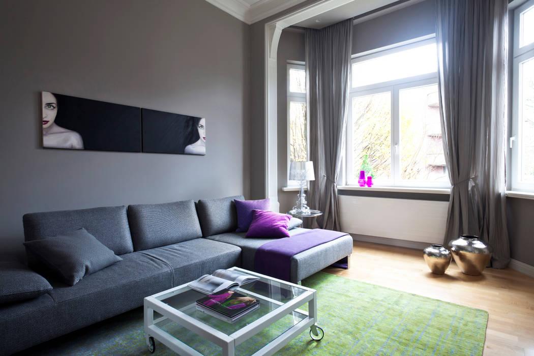 altbauwohnung wohnzimmer:Altbauwohnung Bremen: klassische Wohnzimmer von schulz.rooms