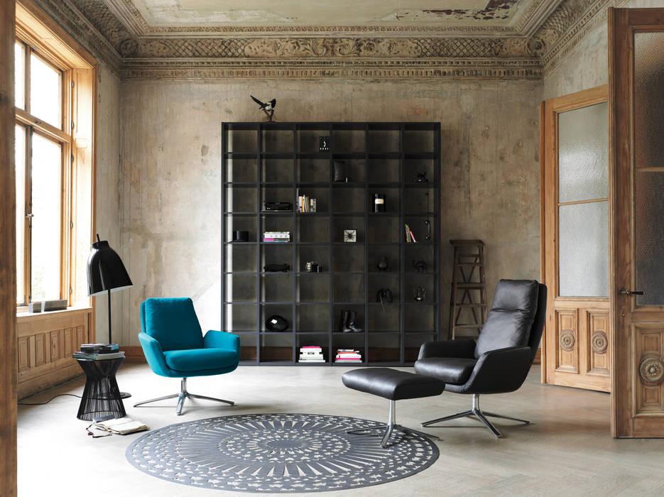 Cor sitzmöbel moderne wohnzimmer von cor sitzmöbel helmut lübke