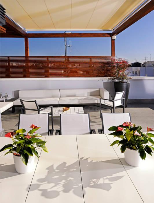 Fotos de terrazas de estilo atico en la ciudad homify - Ideas para terrazas de aticos ...