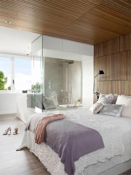 di camera da letto in stile in stile moderno di susanna cots interior ...