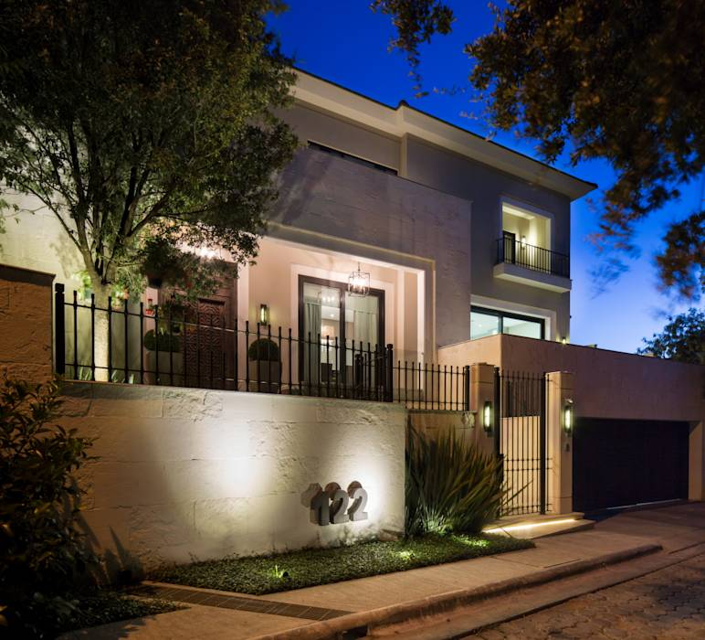 Fotos de casas de estilo moderno casa miguel ngel homify - Miguel angel casas ...