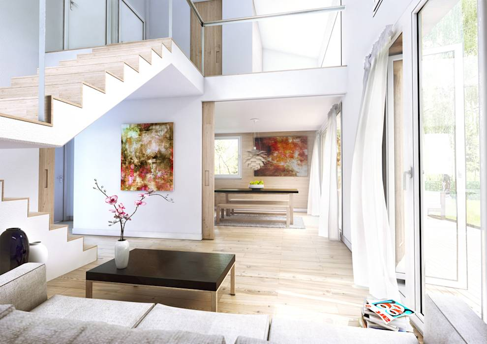 Moderne Wohnzimmer Bilder Ecohome 42 Typ Q