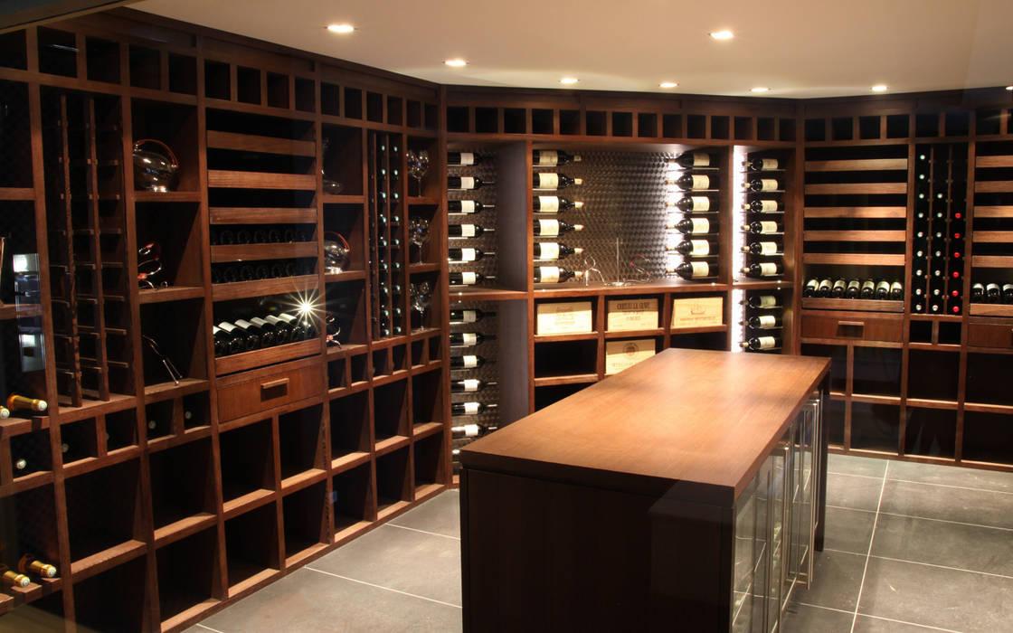 photos de cave vin de style de style moderne sur homify. Black Bedroom Furniture Sets. Home Design Ideas