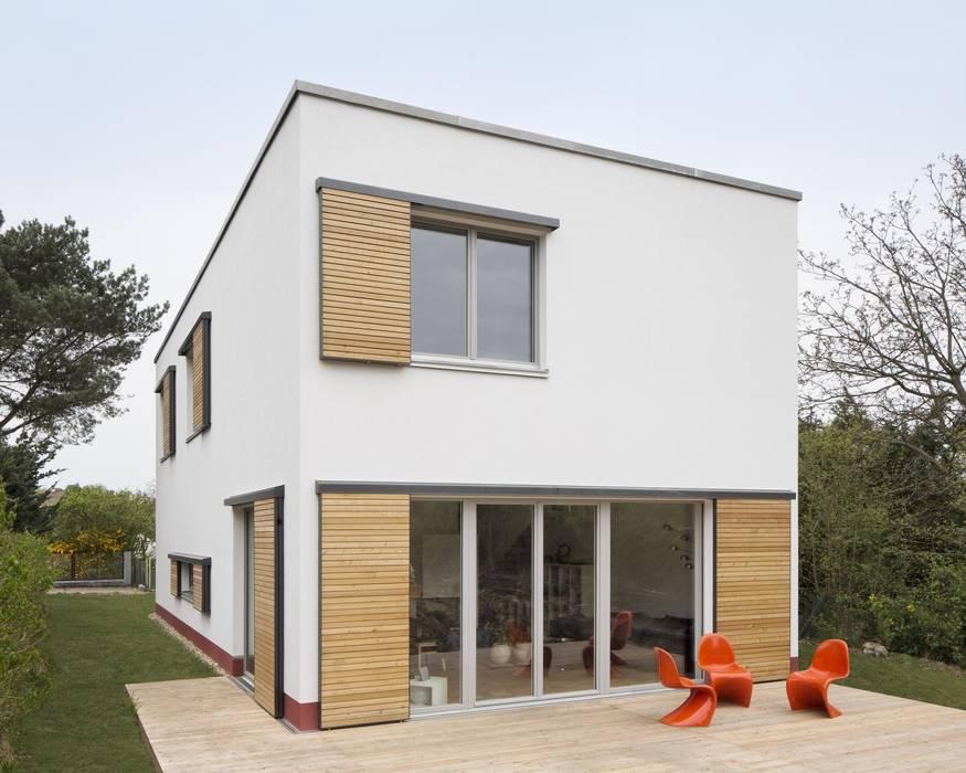 moderne h user bilder klein und go z gig neubau eines. Black Bedroom Furniture Sets. Home Design Ideas