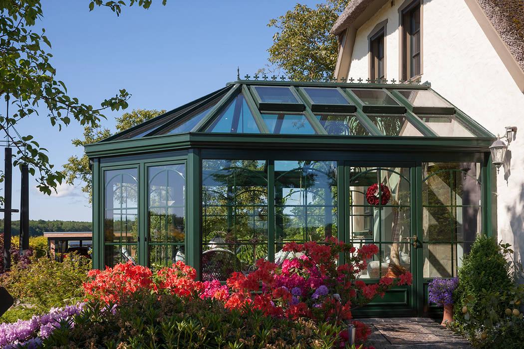 Landhausstil garten bilder romantischer wintergarten homify - Masson wintergarten ...