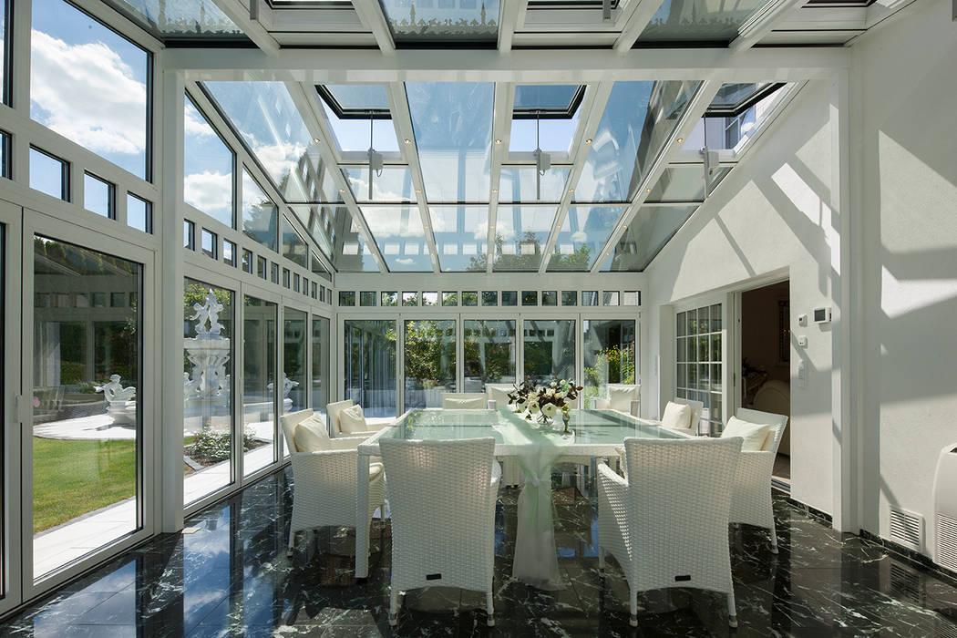 moderner wintergarten bilder luxuri ser wintergarten mit. Black Bedroom Furniture Sets. Home Design Ideas