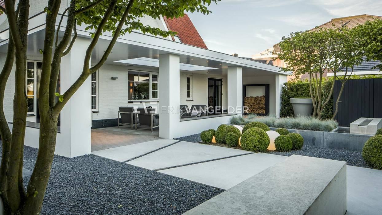 Foto 39 s van een terras moderne villatuin middelburg homify for Terras modern huis
