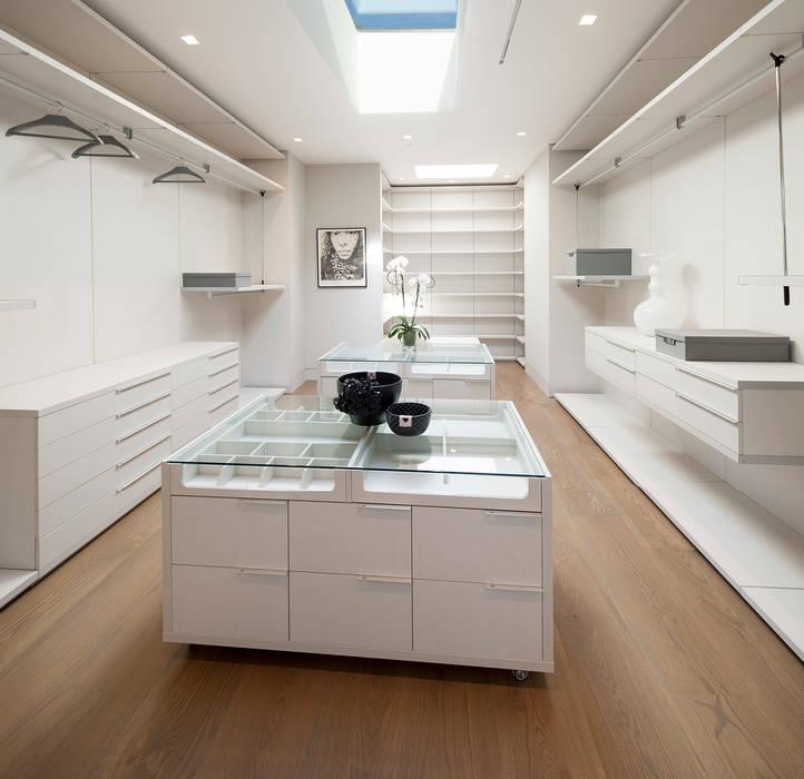 Foto 39 s van een moderne kleedkamer door mcclean design homify for Moderne kleedkamer