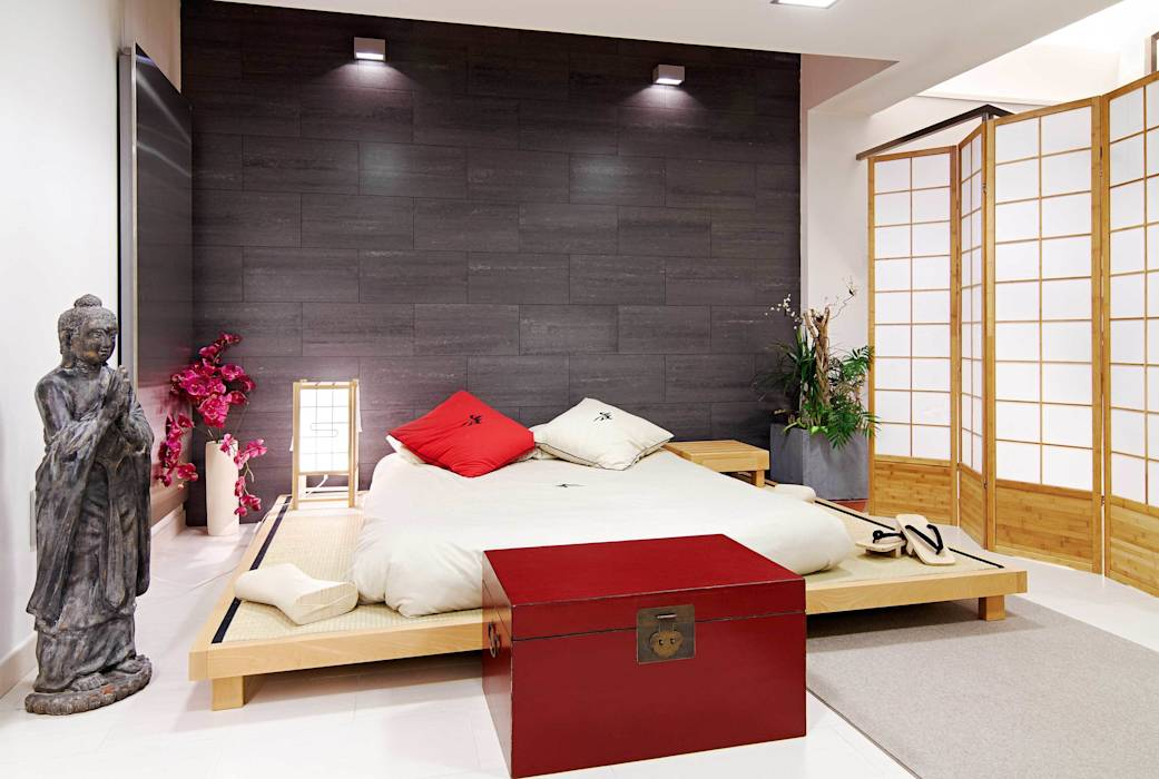 asiatische schlafzimmer bilder von fanstudio architecture