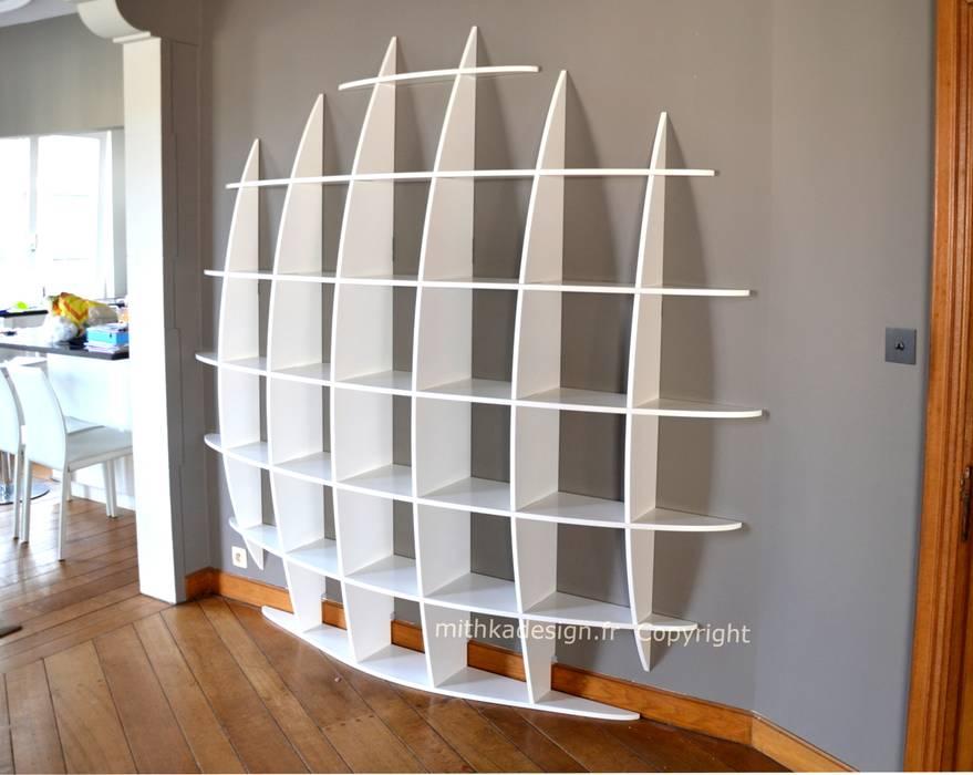 Photos De Salon De Style De Style Moderne Biblioth Que Retento Ronde Gm Sur Homify