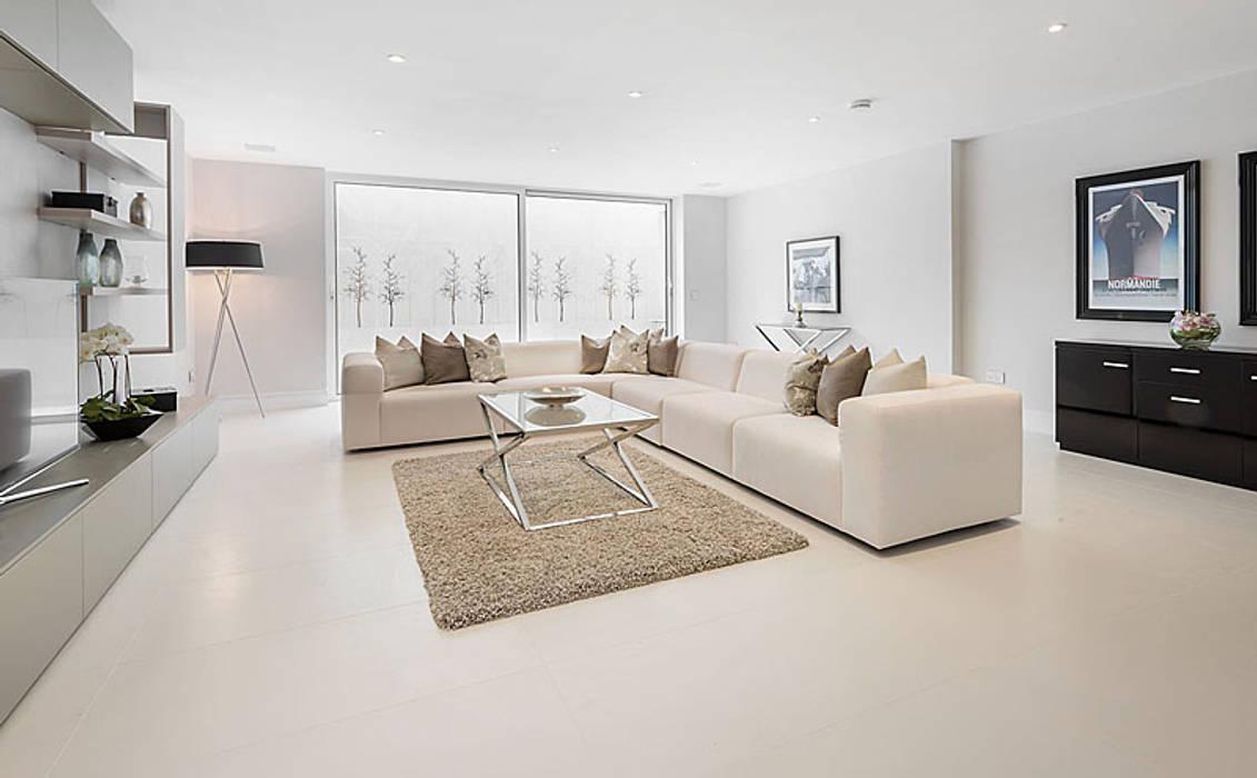 Foto di soggiorno in stile in stile moderno di porcel thin homify - Moderne lounges fotos ...