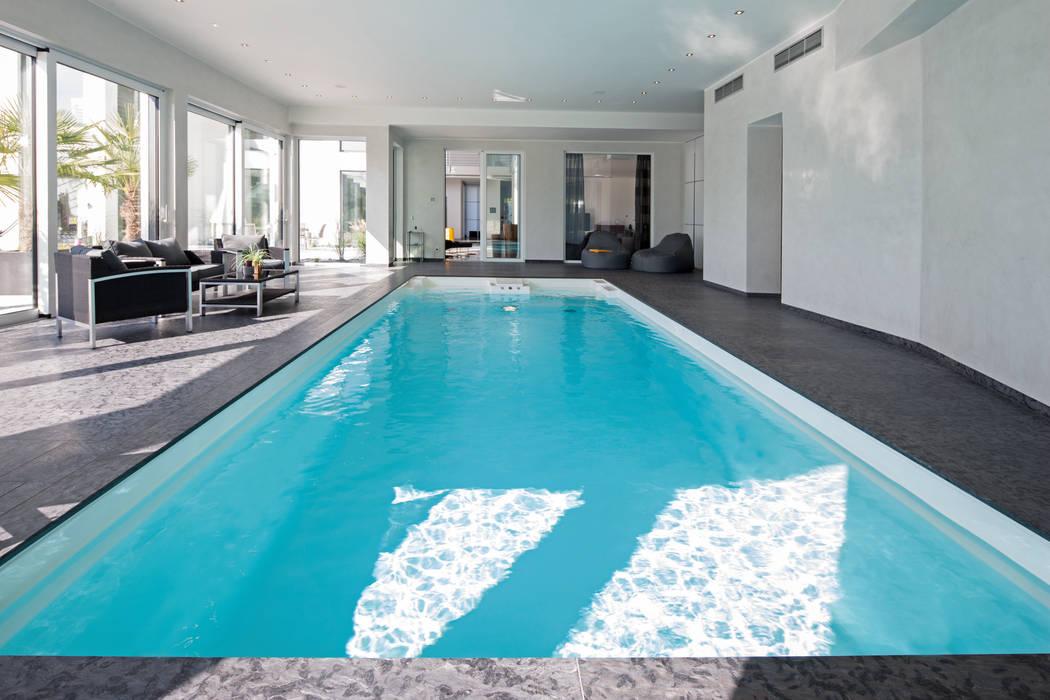 moderner pool bilder pool homify. Black Bedroom Furniture Sets. Home Design Ideas