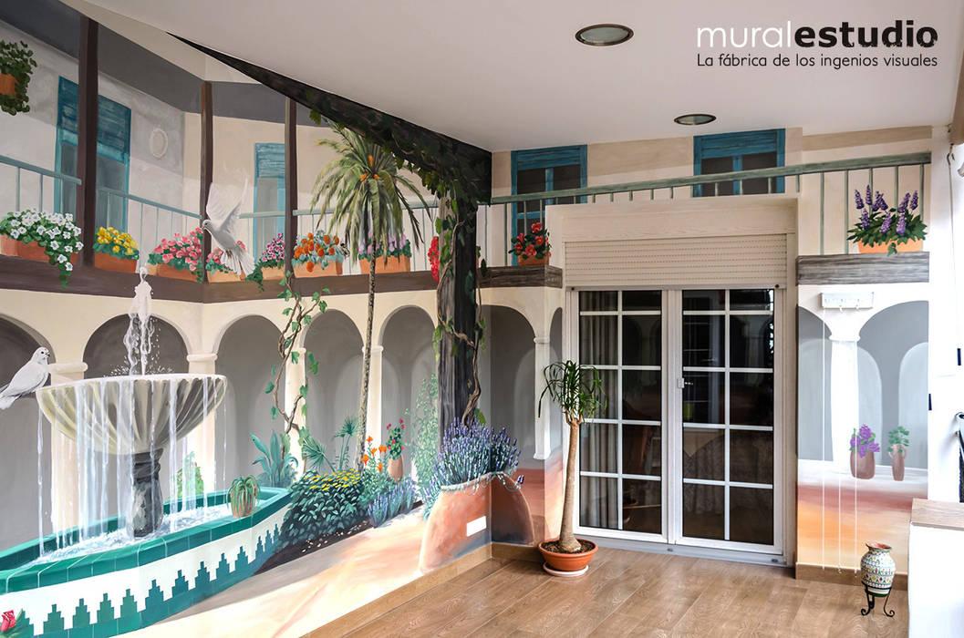 Fotos de terrazas de estilo translation missing - Patios andaluces decoracion ...