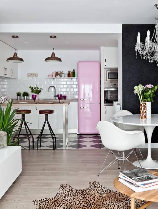 eclectic Kitchen by Disak Studio