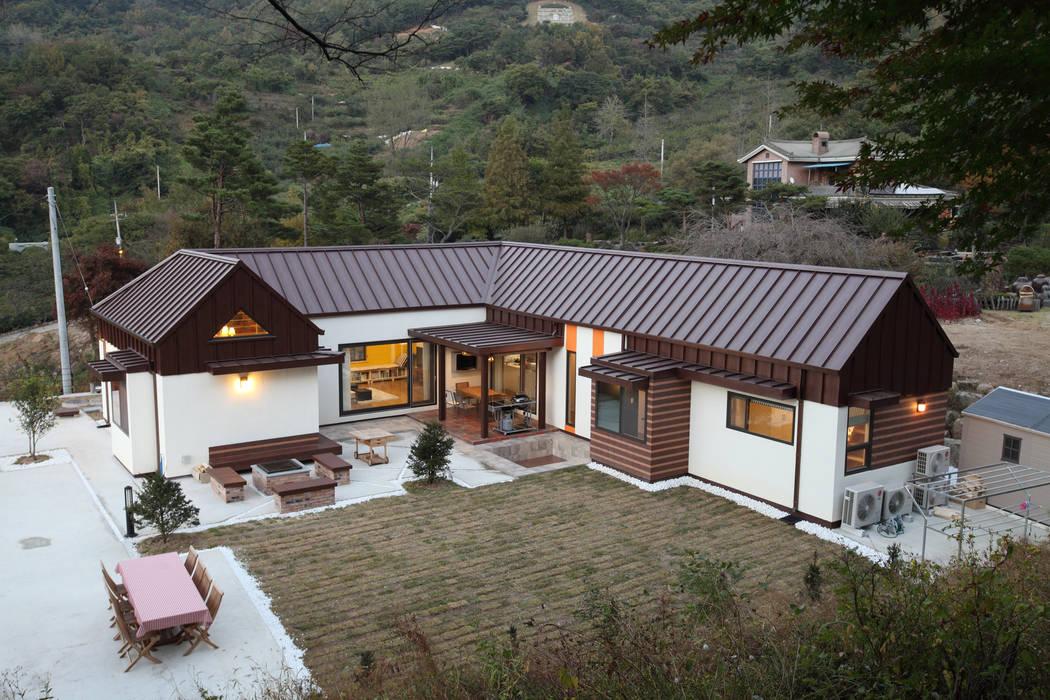 translation missing: tw.style.住宅.modern 住宅 by 주택설계전문 디자인그룹 홈스타일토토