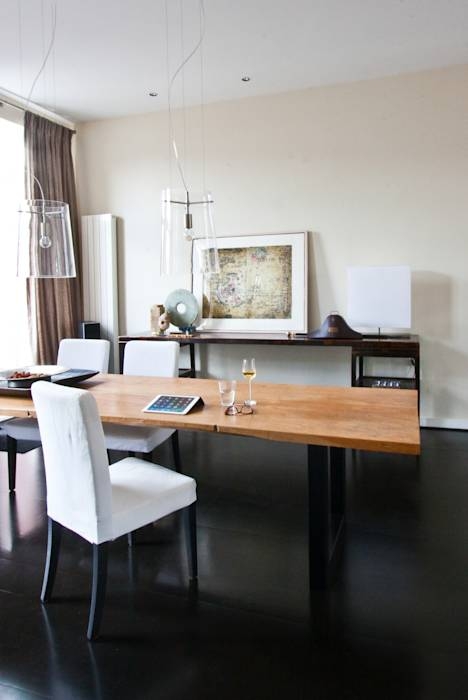 Foto di sala da pranzo in stile in stile eclettico di het lindehuys interieurvormgeving homify - Foto eetkamer ...