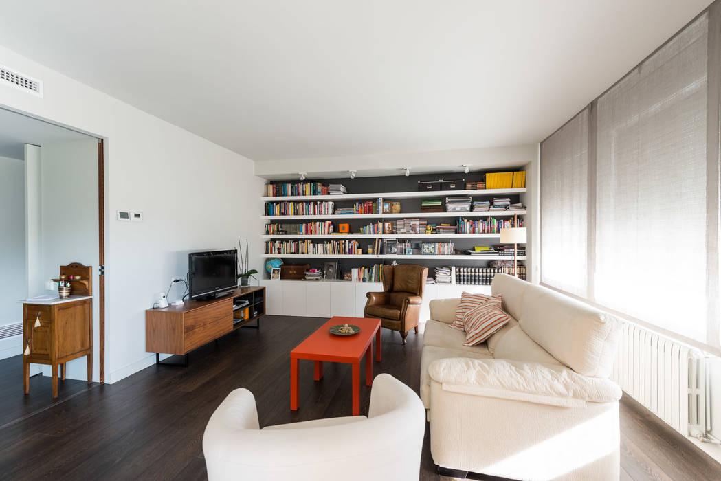 Fotos de salones de estilo moderno reforma integral - Salones con estilo moderno ...