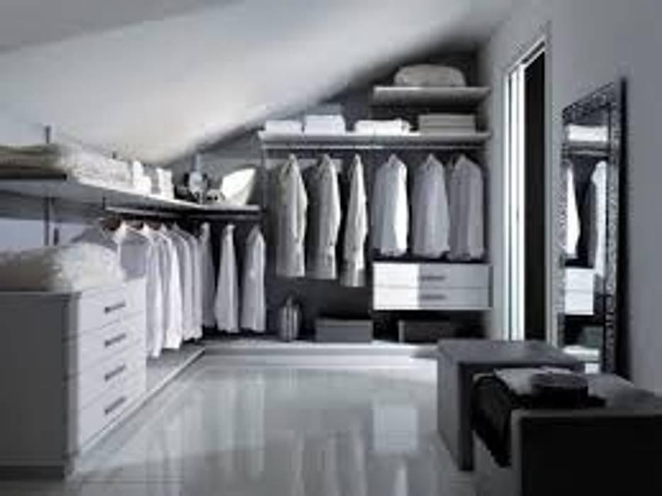 Foto di camera da letto in stile in stile moderno cabina for Camera da letto in stile cabina