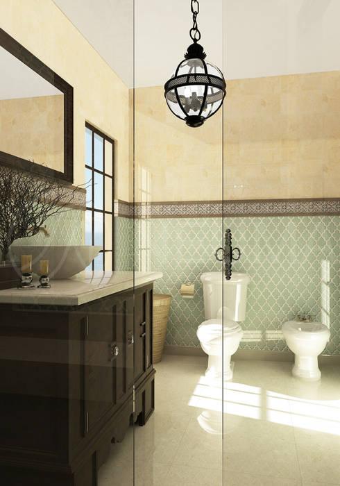 Foto di bagno in stile in stile mediterraneo di anton for Bagno in stile mediterraneo