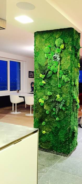 Comedores de estilo ecléctico por Green Mood