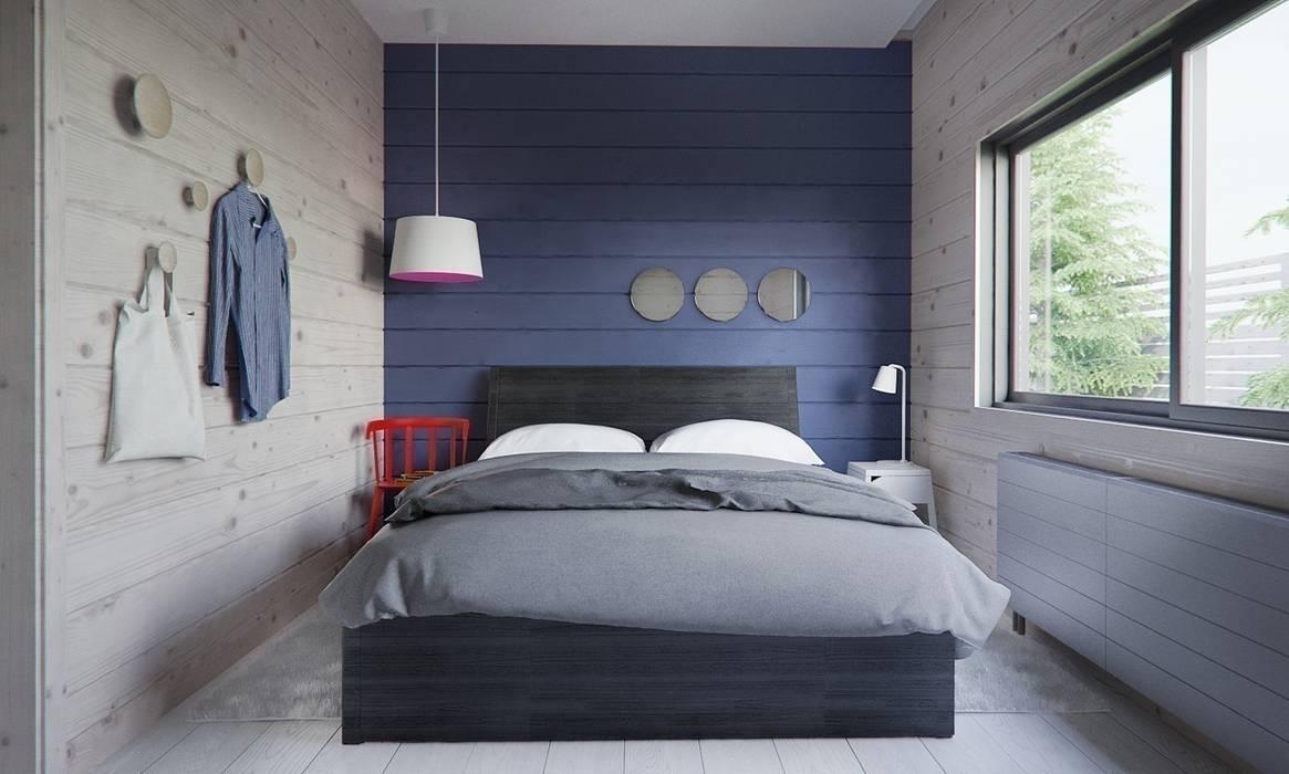 minimalistische schlafzimmer bilder von int2architecture homify. Black Bedroom Furniture Sets. Home Design Ideas