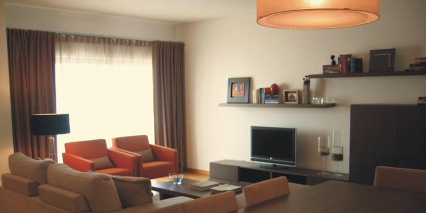 Fotos de salas de estar modernas sala de estar homify for Sala de estar dimensiones