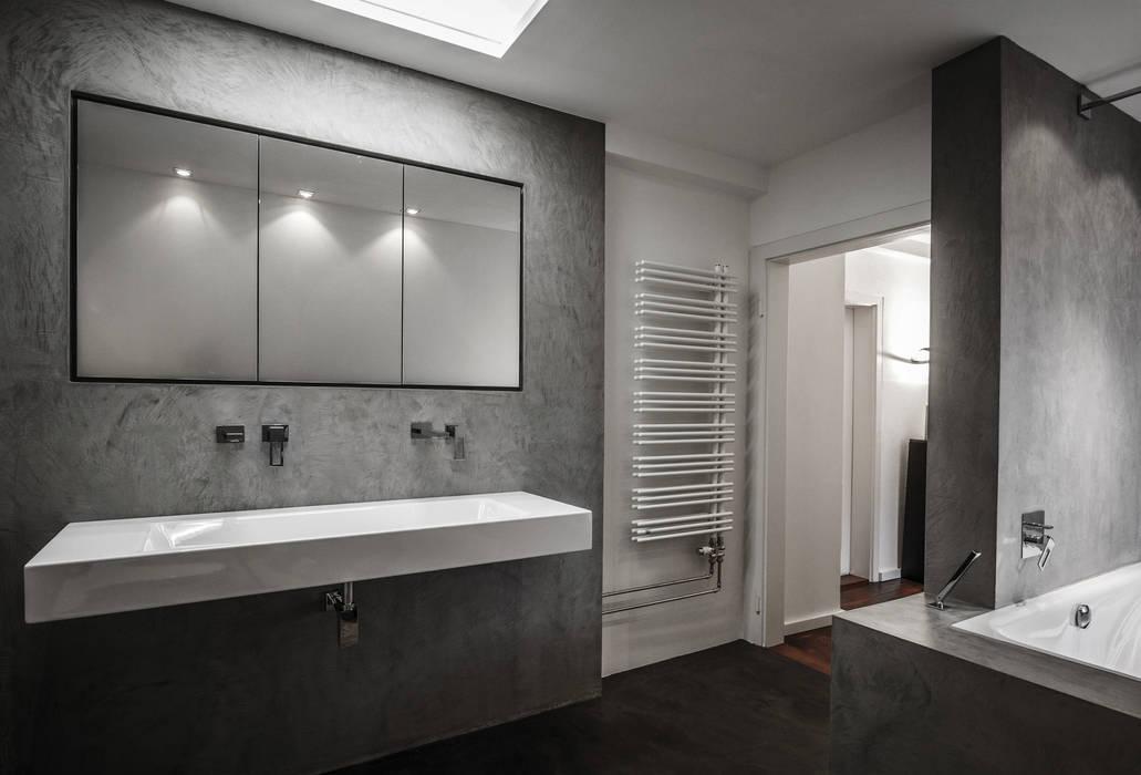 moderne badezimmer bilder beton cir homify. Black Bedroom Furniture Sets. Home Design Ideas