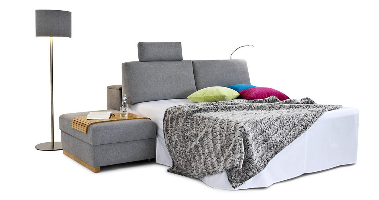 moderne wohnzimmer bilder schlafsofas homify. Black Bedroom Furniture Sets. Home Design Ideas