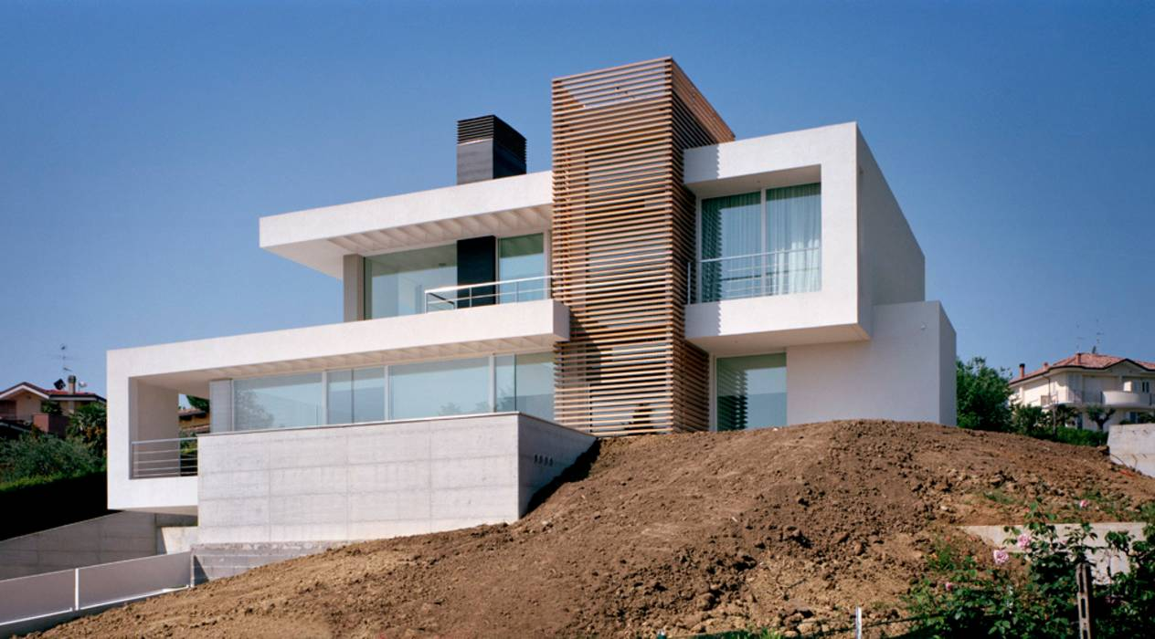 Foto di case in stile in stile moderno homify for Immagini di case in stile artigiano
