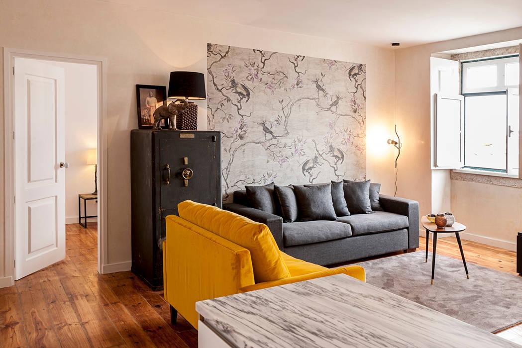 Living Room Sala De Estar ~ Fotos de salas de estar ecléticas living room  homify