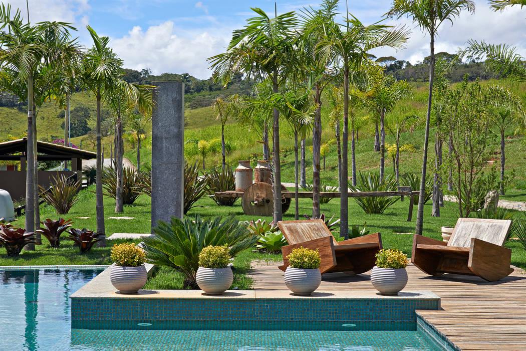 Fotos de jardines de estilo rústico de beth marquez interiores